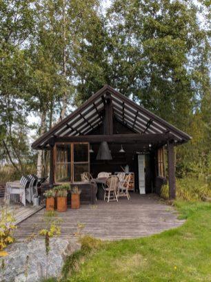 airbnb cabin villa in finland seaside