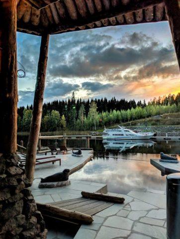 Hotel & Spa Resort Järvisydän view