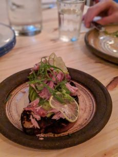 abie best restaurant in tel aviv avocado bread