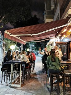 223 cocktail bar in tel aviv outdoor
