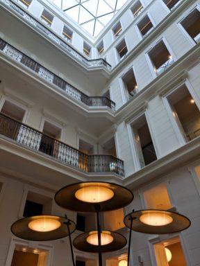 hotel moments budapest lobby