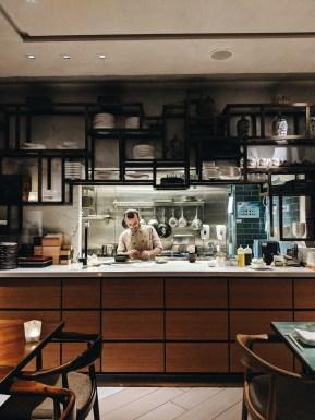 The Dinings Japanese restaurant Tel Aviv kitchen
