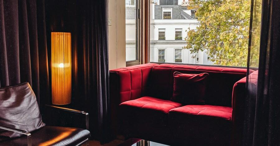 החדר במלון הארי לונדון