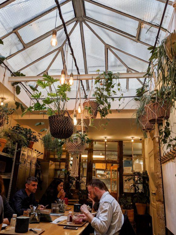 אוכל טבעוני בריא בפריז