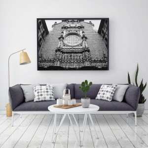 Montserrat Abbey wall print