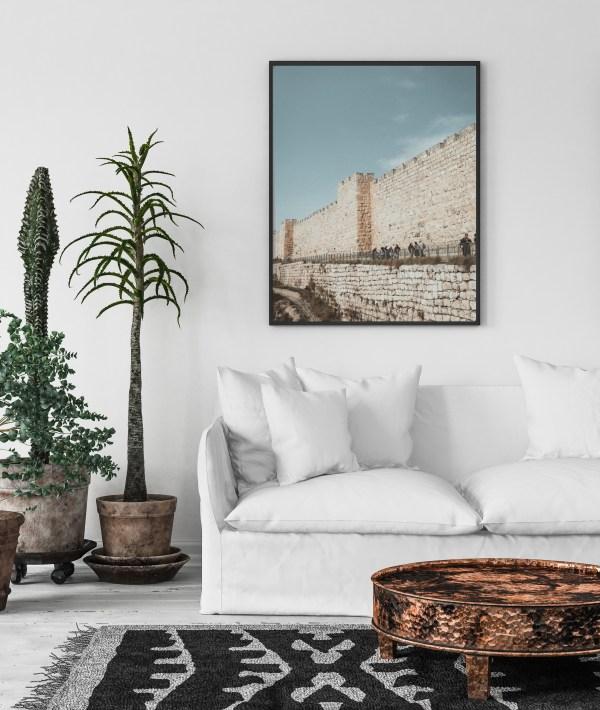 jerusalem wall print