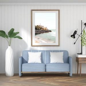 Jaffa port wall print
