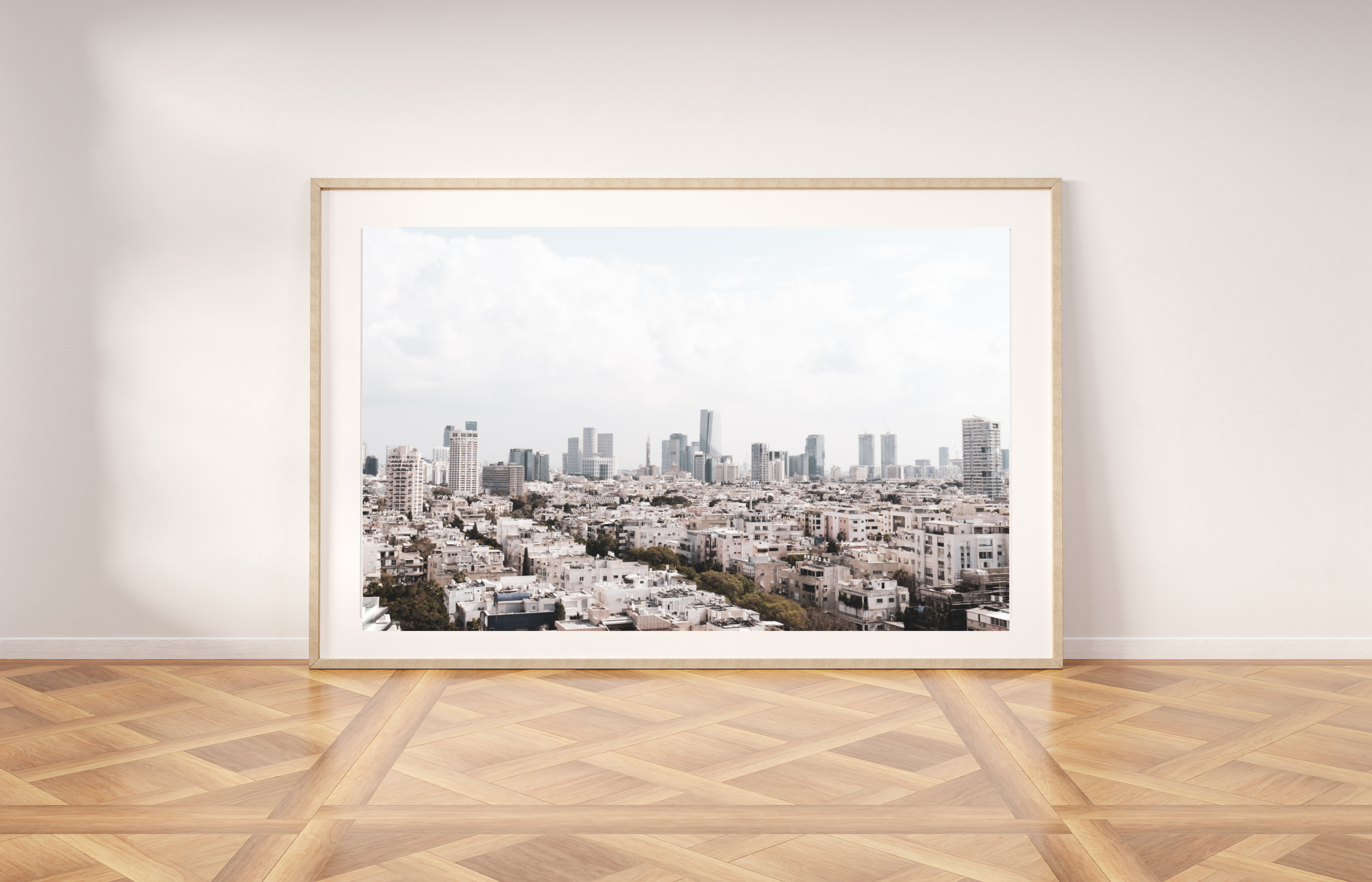 tel aviv printable wall art