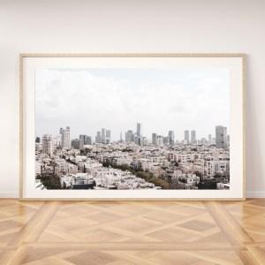 tel aviv printable wall art