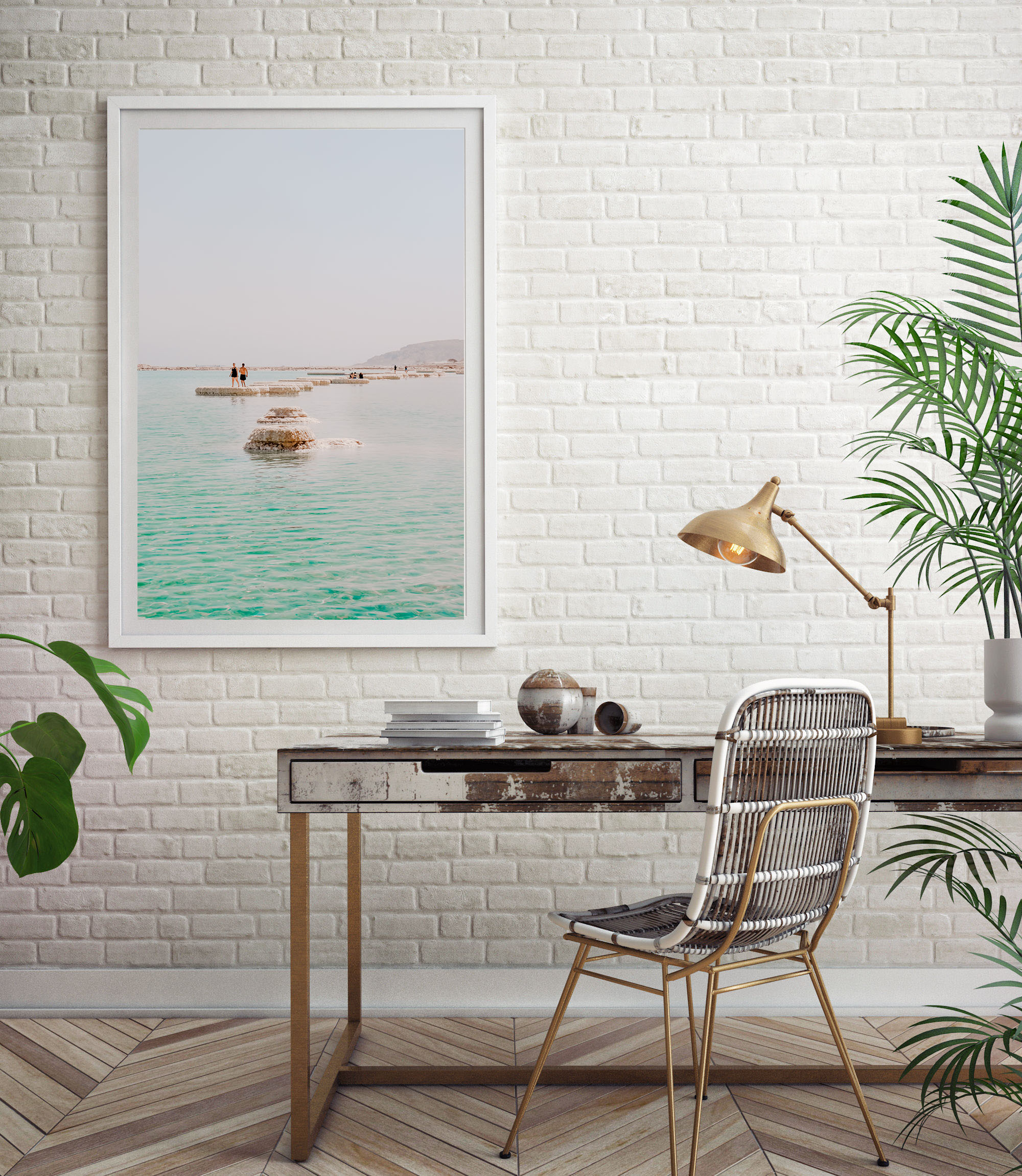 dead sea wall print