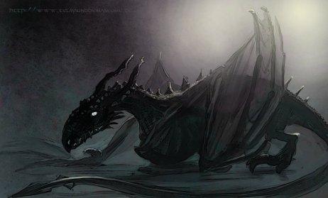 A baby dragon ...