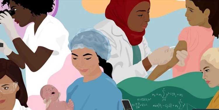 women power science health