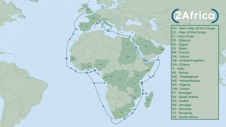 africa subsea cable