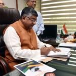 SC's order on AGR applies to all telecom licensees, says Ravi Shankar Prasad