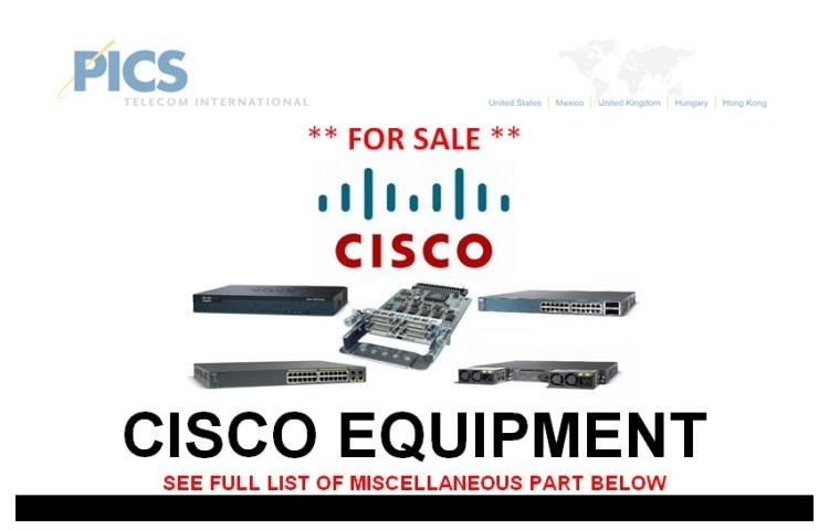 Cisco Equipment (MISC) For Sale Top