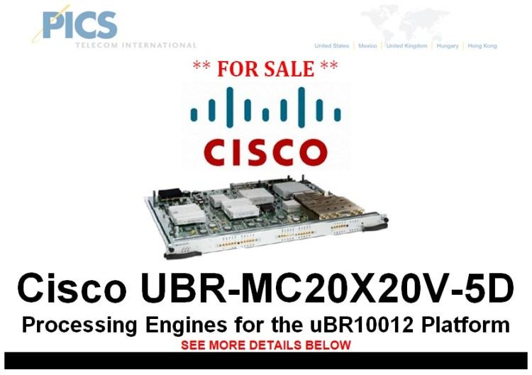 Cisco UBR-MC20X20V-5D For Sale Top