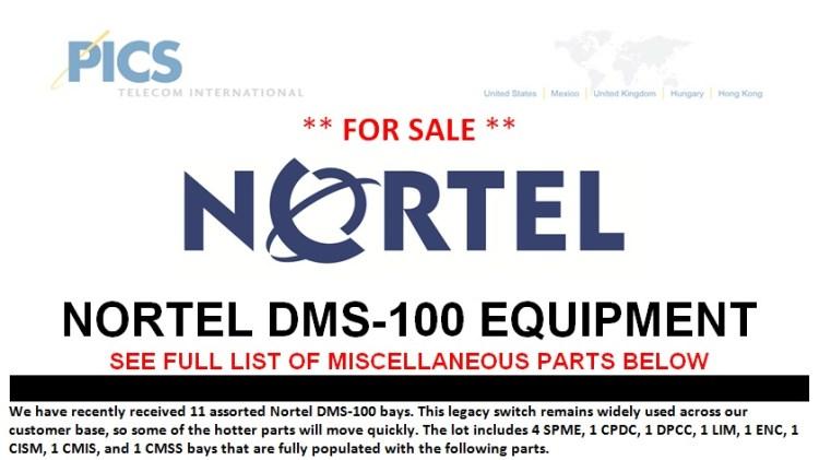 Nortel DMS-100 Equipment For Sale Top