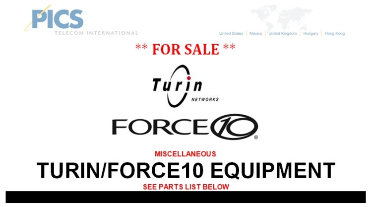 Turin-Force10 For Sale Top 3.12.13