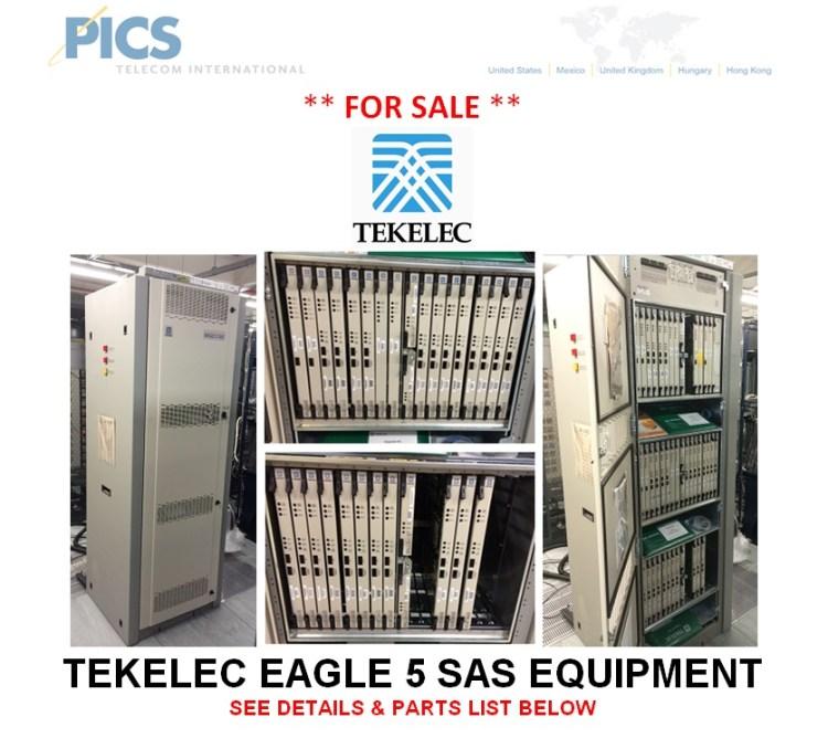 Tekelec Eagle 5 SAS Equipment For Sale Top (2.6.14)