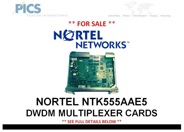 Nortel NTK555AAE5 Cards For Sale Top (5.29.14)