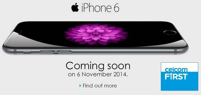 Celcom iPhone 6 & 6 Plus