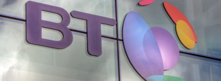BT office logo