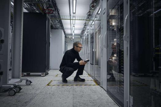 Ericsson server bloke