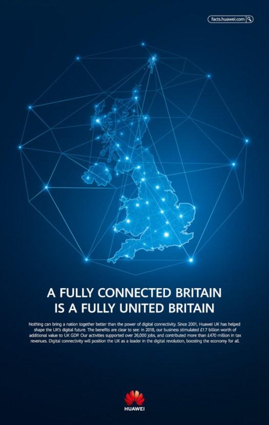 Huawei UK ad small