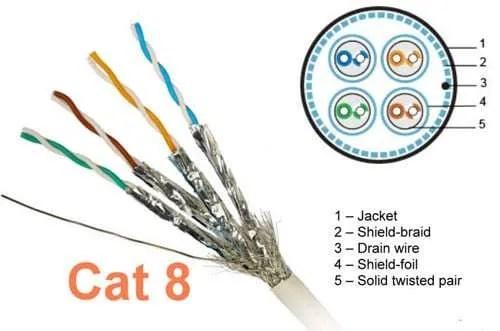 Cable Categoria 8