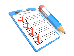 Project Task Check List