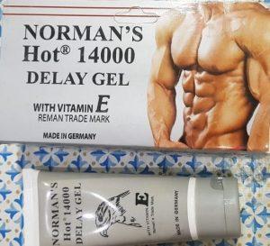 Normans Hot 14000 Delay Jel