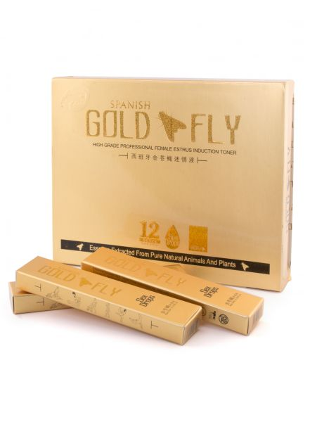 Spanish Gold Fly Drops for females
