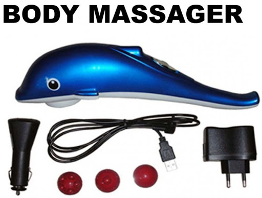 Large Dolphin Infrared Body Massager