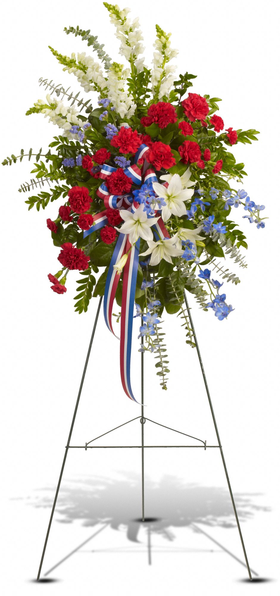 Ocean Breeze Spray Sympathy Arrangement Teleflora