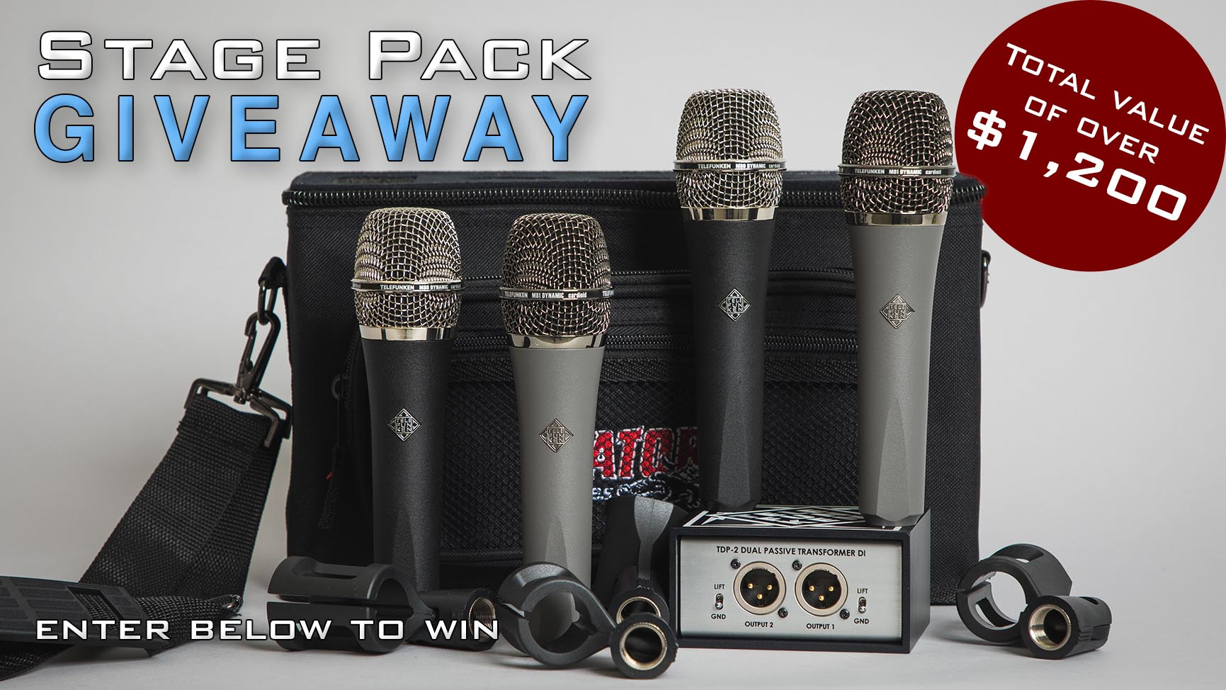 Stage Pack Giveaway