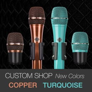 TELEFUNKEN New Custom Shop Colors