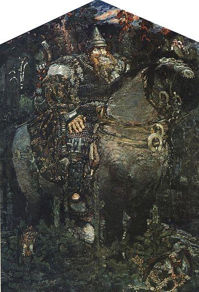 Михайло Врубель (1898). «Богатир».
