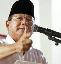 Tok! Prabowo Kembali Jadi Ketua Umum Gerindra
