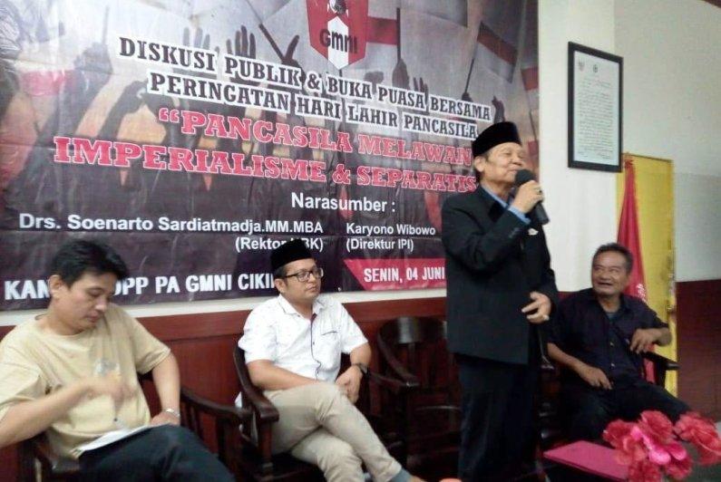 Maraknya Radikalisme dan Separatisme, PA GMNI Bahas Eksitensi Pancasila