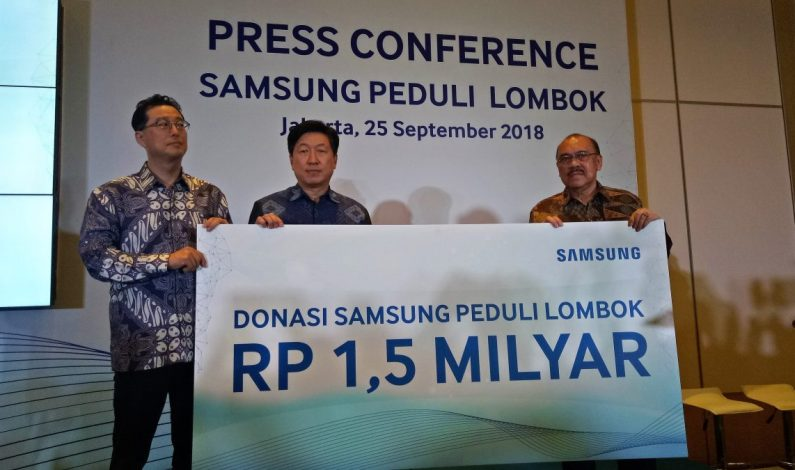 Omset Penjualan Di Lombok Menurun Drastis Samsung Tetap Gelontorkan Bantuan