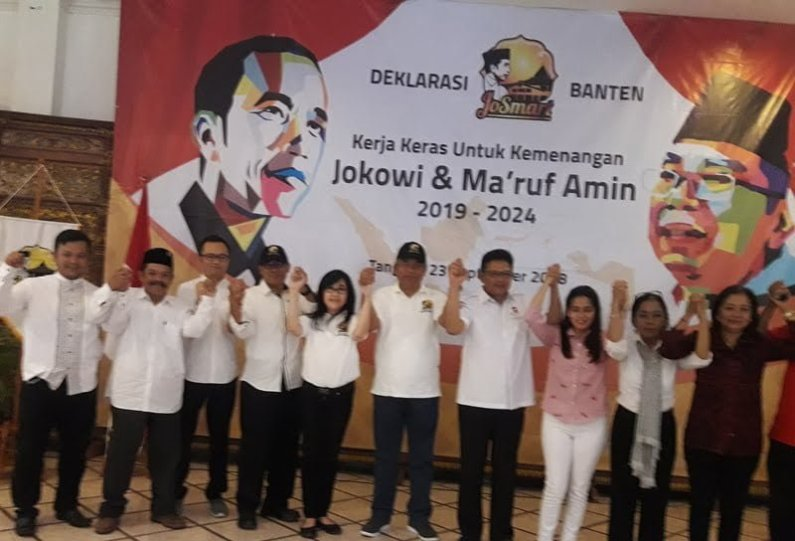 Targetkan 60 Persen Suara, Relawan JoSmart Garap Suara Banten Untuk Jokowi