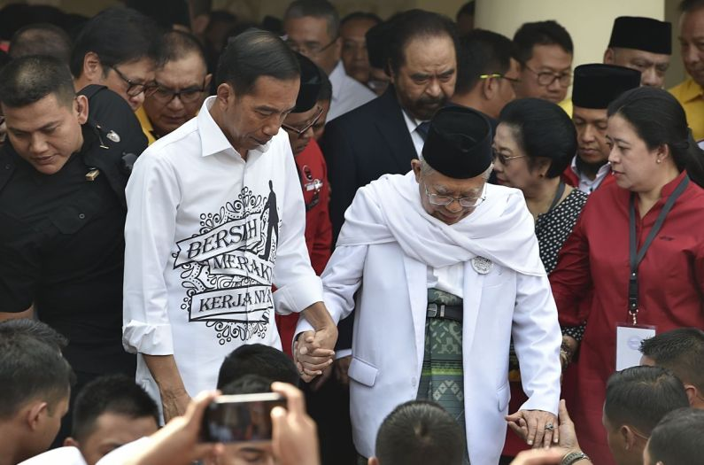 Koalisi Jokowi- Amin Kuasai 60,69% Kursi DPR