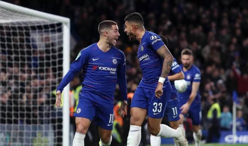 Tumbangkan Huddersfield, Chelsea Geser Posisi Arsenal