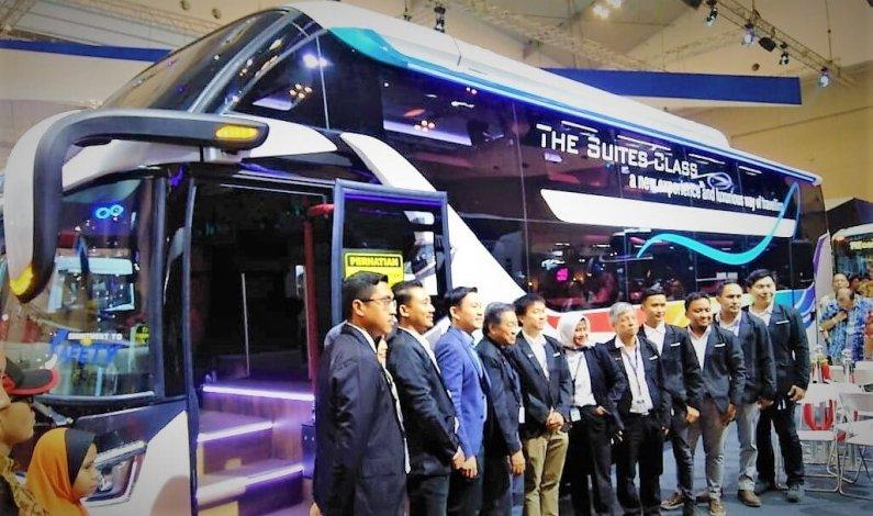 Inovasi LAKSANA BUS Memperkenalkan Legacy SR2 Suites Class di GIIAS 2019