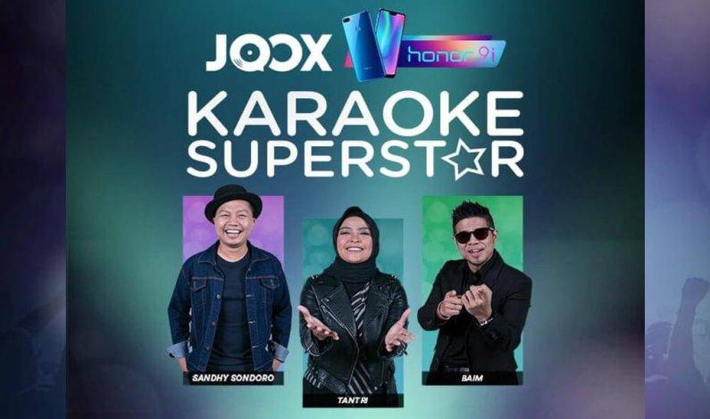 Jadilah Superstar, Ikuti Ajang Kompetisi JOOX Karaoke Superstar 2019