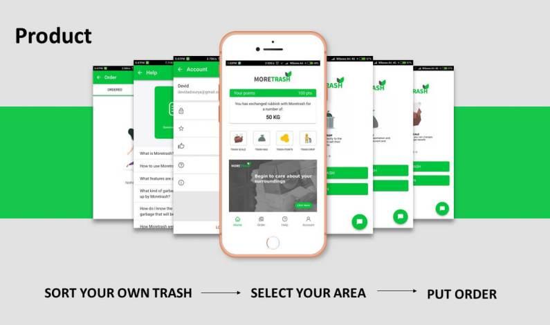 Moretrash, Aplikasi Pintar Mengubah Sampah Menjadi Uang