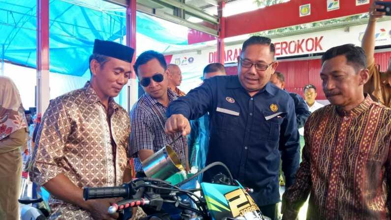 Tingkatkan Perekonomian dan Jamin Ketersediaan BBM BPH Migas Resmikan 57 Sub Penyalur di Selayar