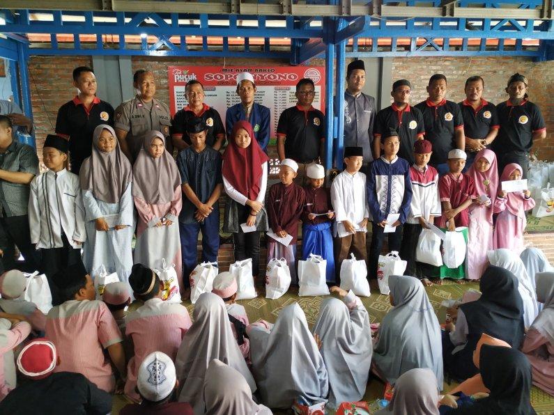 Papmiso Santuni 267 Anak Yatim