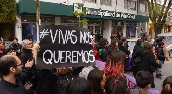 Las cifras de violencia de género no ceden y se recrudecen en la pandemia (Fotos Ricardo Stinco).