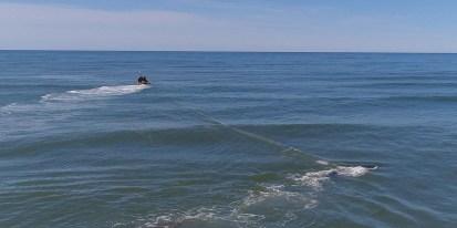 Rescate ballena jorobada Mar del Tuyu XII